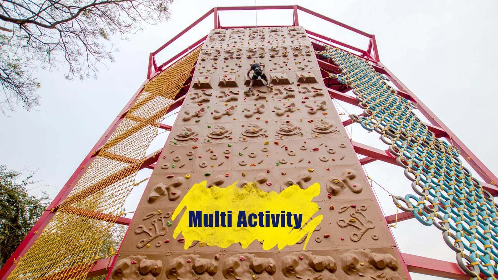 Multi Activity Tower Adventure